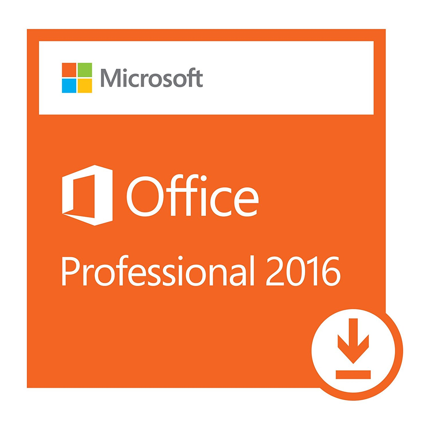 microsoft office professional 2016 1 pc for windows ms office works. Black Bedroom Furniture Sets. Home Design Ideas