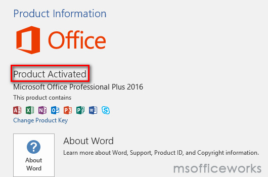 excel 2016 with product key