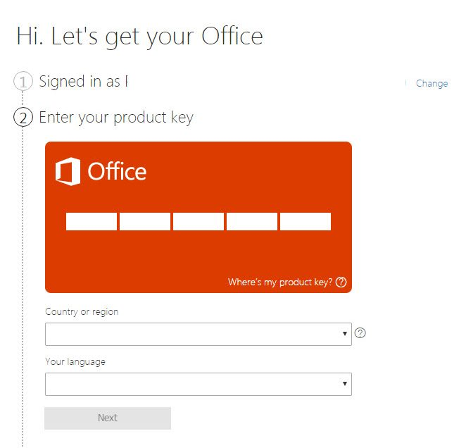 how to change office 365 licence for mac