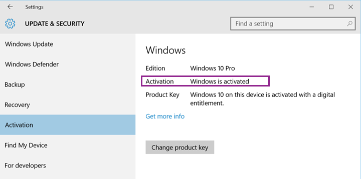 Microsoft windows 10 pro lastest download 1 pc license ms activating windows 10 after a hardware configuration change ccuart Gallery