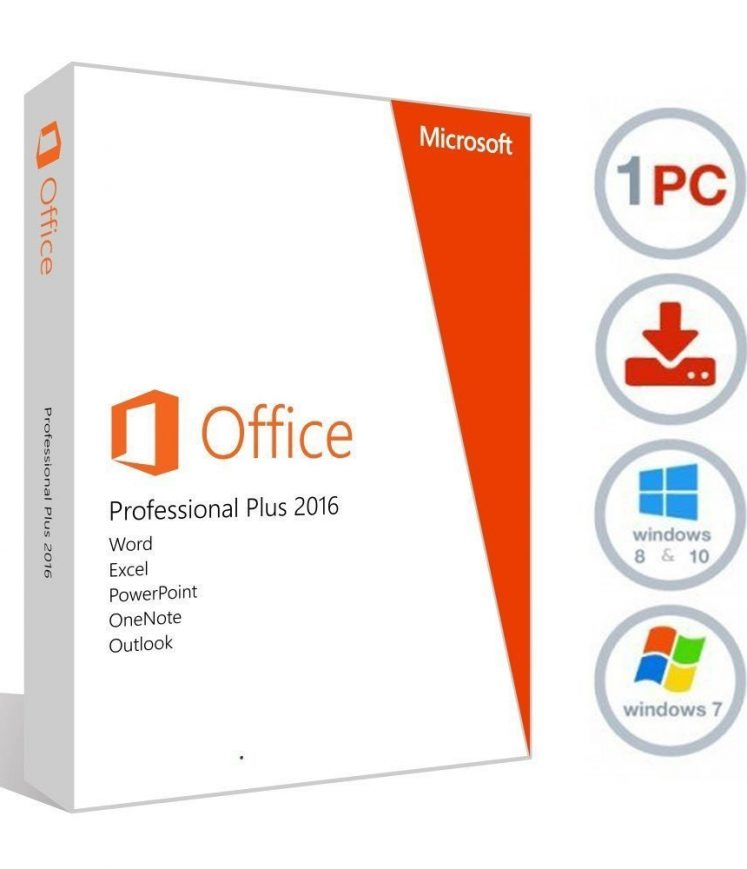 microsoft office 2016 professional retail (64-bit)