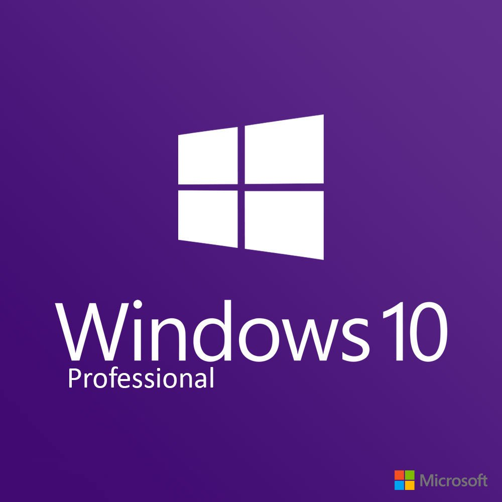Microsoft windows 10 pro 1 pc license download ms for Window 10 pro