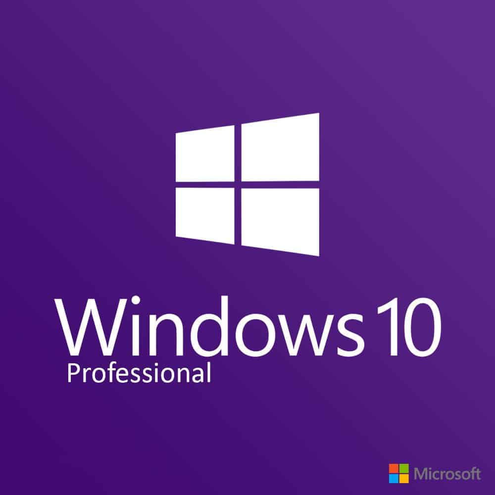 Buy Windows 10 Pro Retail License 64 & 32 Bits for PC / Mac