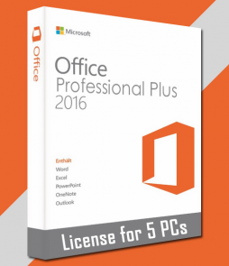 Microsoft Office 2016 - Office Suites Products Key