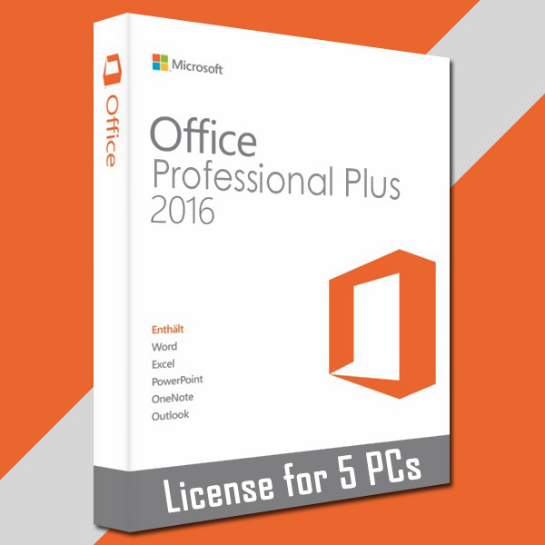 microsoft office professional 2016 product key list