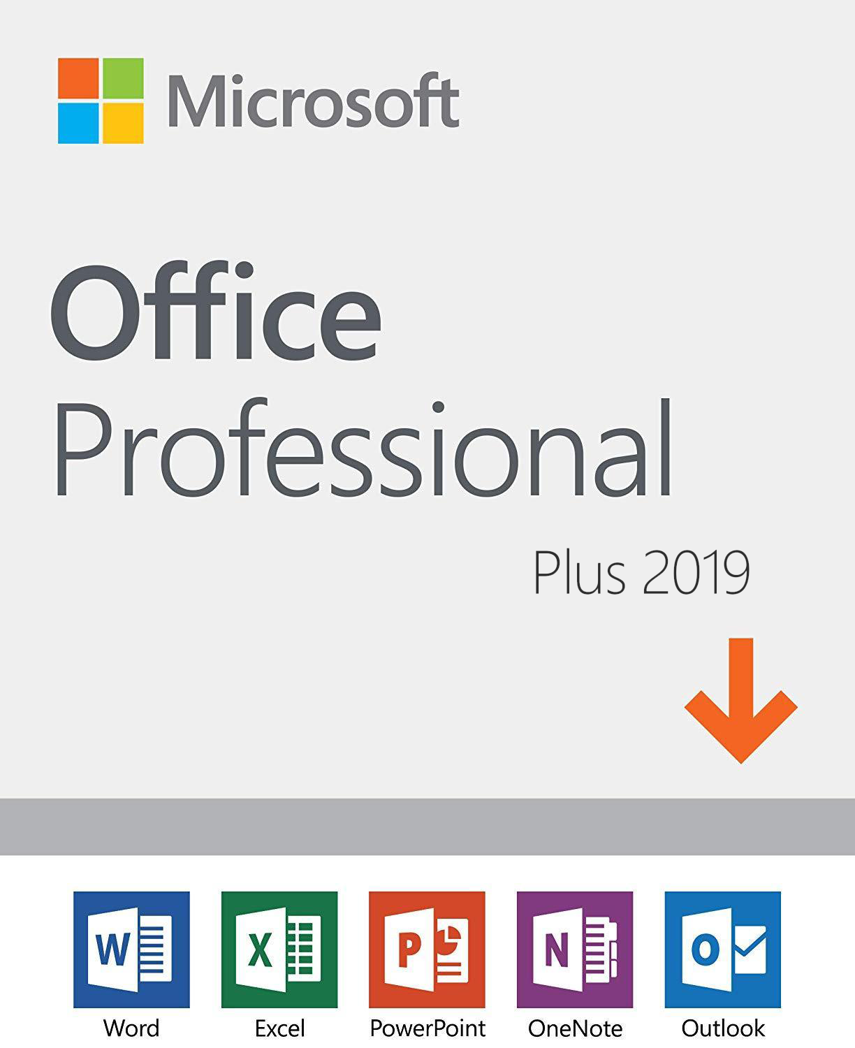 MS Office Home and Student 2019 license